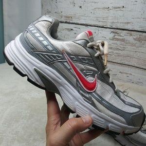 Nike/ Gray White Pink Tennis Shoe/ Sz 8